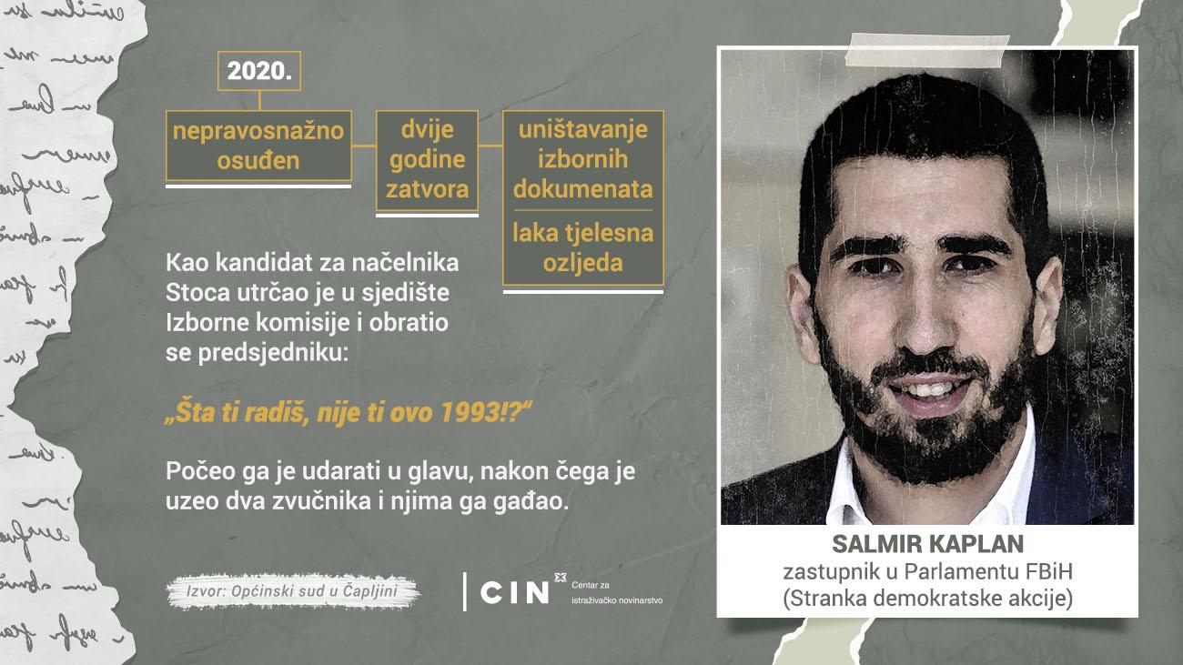 Profil - Salmir Kaplan - BHS