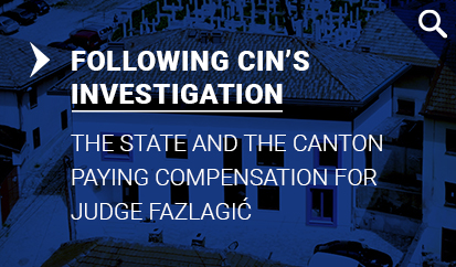 The state and the canton paying compensation for Judge Fazlagić