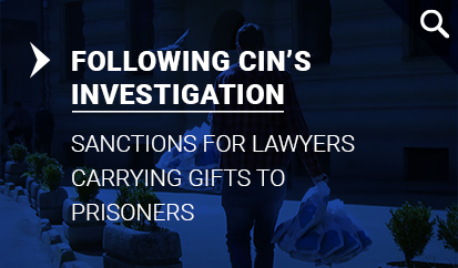 Sanctions for Lawyers Carrying Gifts to Prisoners