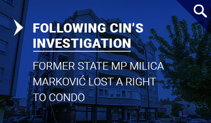 After CIN Published its Story Milica Marković Lost a Right to Condo