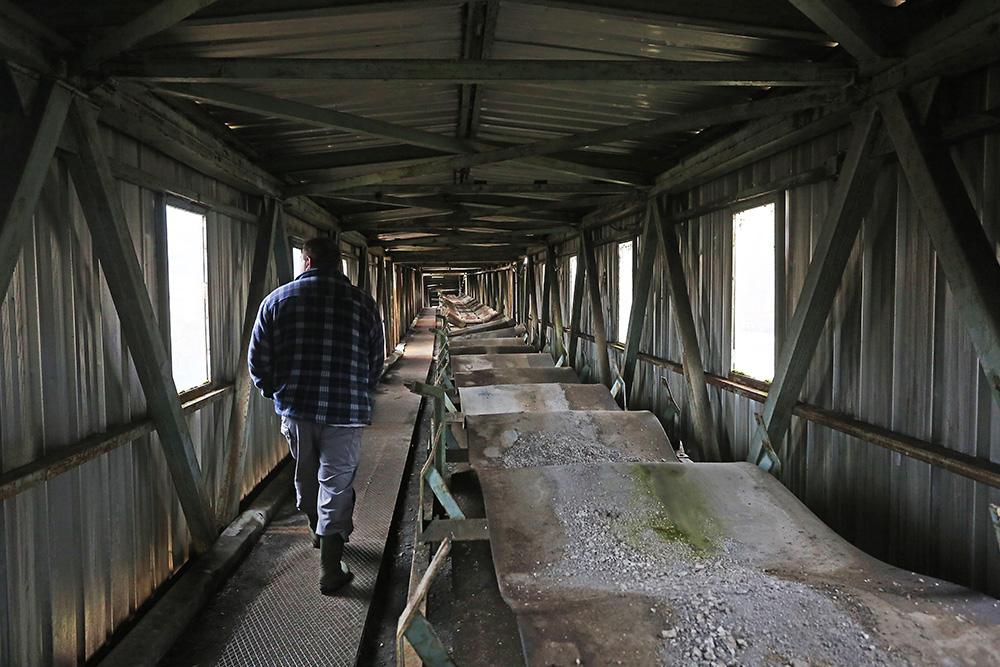 Coal mine Kamengrad